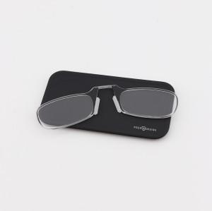 En popüler fabrika özel yeni moda mini Cüzdan tasarım optik okuma gözlükleri silah olmadan