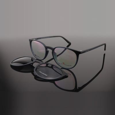 Top sale new fashion unique design round sun glasses TR90 magnetic clip on sunglasses made in china