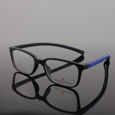Guangzhou factory supply Fashion young color square eyewear TR Soft optical eyeglasses frames teenagers