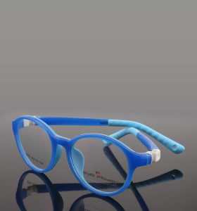 حار بيع جديد موضة اللون جميل نمط النظارات المستديرة tr انفصال النظارات البصرية إطارات للأطفال