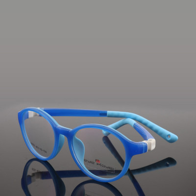 Hot sale new fashion color lovely style round spectacles TR Detachable optical eyeglasses frames for children