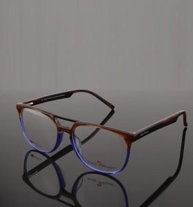 الجملة مصنع توريد جديد مصمم الأزياء جسر مزدوج النظارات خلات إطارات النظارات البصرية للرجال