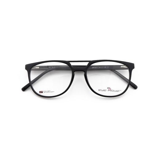 Toptan fabrika kaynağı yeni moda tasarımcısı çift köprü gözlük asetat erkekler için optik gözlük çerçeveleri