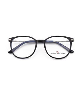أعلى بيع جديد تصاميم الأزياء الفاخرة الحديثة الرجال النظارات المستديرة رقيقة خلات إطارات النظارات البصرية