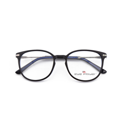 Top sale new modern fashion luxury designs mens round eyeglass Thin Acetate metal optical spectacle frames