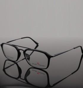 حار بيع الأسهم على الانترنت العصرية نمط فريد ييويرس مزدوجة جسر tr المعادن البصرية النظارات إطارات الرجال