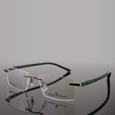 Plus populaire nouveau modèle de mode unique Rimless métal optique eyewears mens TR cadre de lunettes meilleure qualité