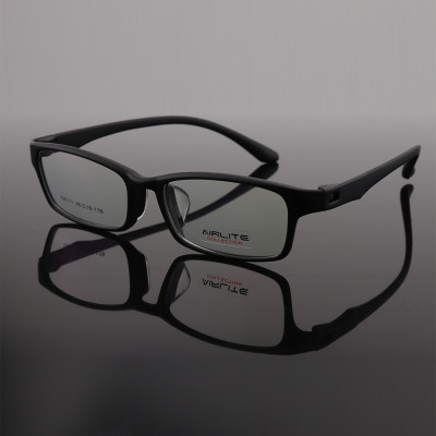 Guangzhou factory supply New fashion optical eyeglasses TR plastic eyewear frame with silicone nose pads