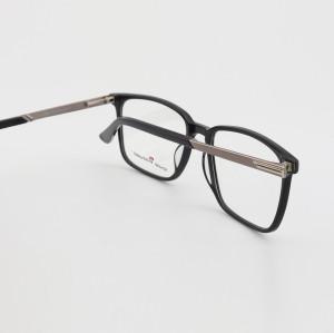 En iyi kalite sıcak satış yeni moda özel optik eyewears erkek tasarımcı tam kare Gözlükler ucuz
