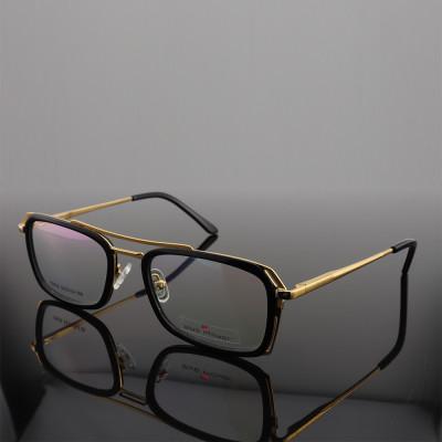 مصنع الترويجية العرض رجل جديد الفاخرة إطارات النظارات خفيفة الوزن معدنية ييويت جسر خلات البصرية