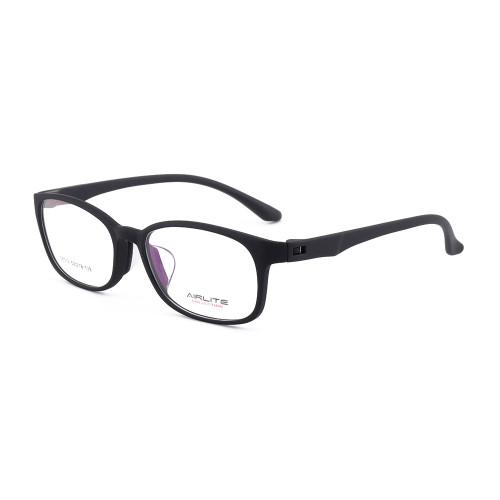Suministro de fábrica de marcos de gafas ópticas transparentes de plástico TR coloridas con almohadillas de silicona para la nariz Calidad suave