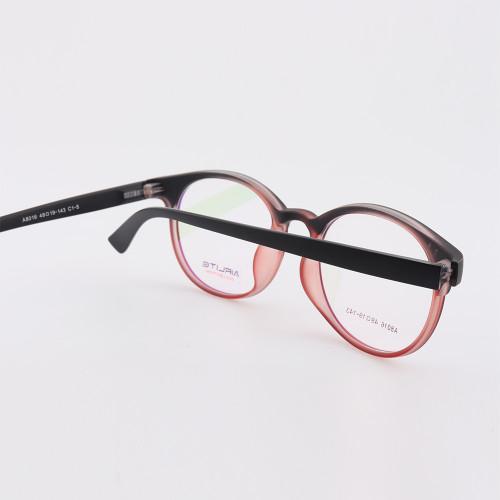 Venta al por mayor de China personalizado nuevo diseño de moda de moda anteojos coloridos TR marcos ópticos redondos