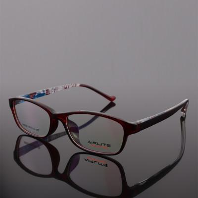 Best quality new vogue fashion design color pattern Thin eyewear TR plastic soft optical eye glasses frames