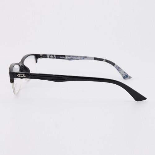 Gafas de diseño de patrón de novedad de venta caliente más nuevas TR Halfrim marcos de anteojos ópticos flexibles para hombres