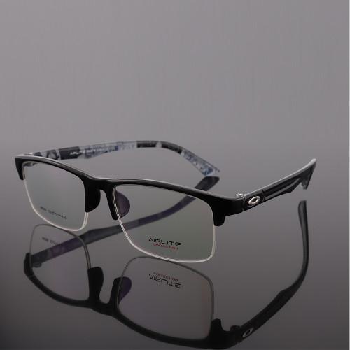 Último suministro de fábrica LOW MOQ Gafas de moda TR Plastic halfrim marcos de anteojos ópticos estilo de hombre