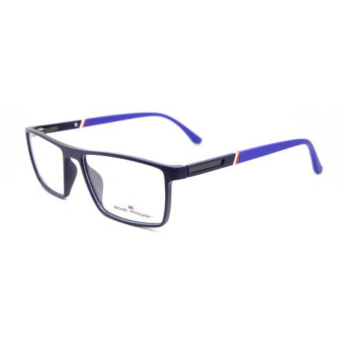 Venta superior manufactura personalizada nueva moda diseño de moda gafas ópticas TR Gafas cuadradas monturas hombres