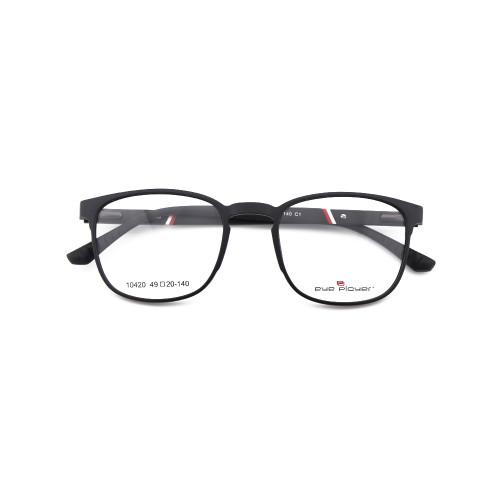 Moda joven promocional Gafas ópticas deportivas elasticidad primavera TR90 marcos de anteojos de plástico para hombre