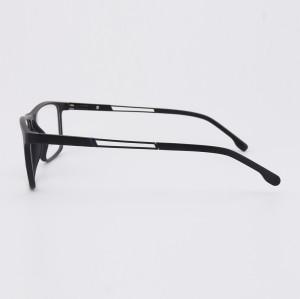 En popüler yeni moda trendy metal Tapınak gözlükler TR Plastik optik gözlük çerçeveleri mens