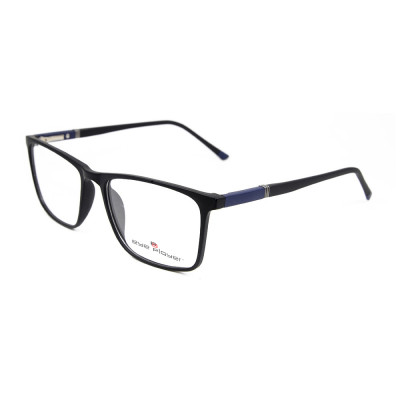 Young fashion stylish spectacles TR90 Plastic Square optical eyeglasses frames for men lightweight