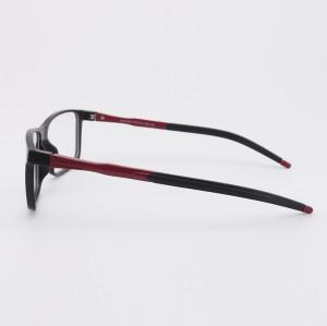 Yeni model Moda benzersiz spor optik gözlük erkekler için TR90 tasarımcı gözlük çerçeveleri üreticileri
