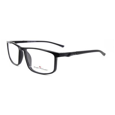 Moda joven con estilo TR Gafas de plástico deportes ópticos marcos de anteojos ópticos para hombre precio barato