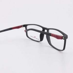 Genç moda şık TR Plastik gözlükler esnek spor mens ucuz fiyat için optik gözlük çerçeveleri