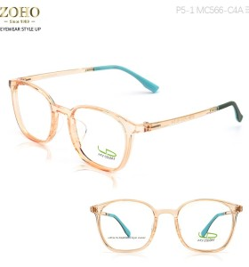 TR MATERIAL OPTICAL FRAME WITH SILICONE NOSE PAD DOUBLE COLOR TEMPLE BABY STYLE