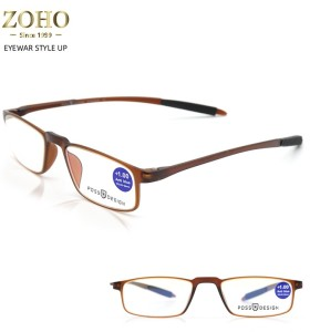 READING GLASSES TWO COLORS WITH BLUE CUT POSSDESIGN