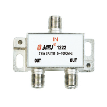 European Type Indoor 2 way CATV Splitter(5-1000MHz)