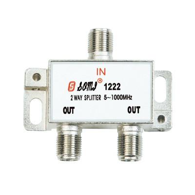 European Type Indoor 2 way CATV Splitter(5-1000MHz)