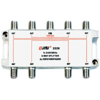 Eurppean type Indoor 8 way satellite splitter(5-2400MHz)