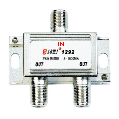 High Quality Type Indoor 2 Way CATV Splitter(5-1000MHz)