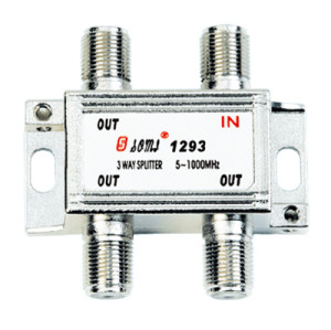 High Quality Type Indoor 3 Way CATV Splitter(5-1000MHz)