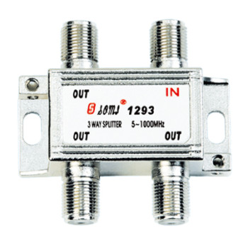 High Quality Type Indoor 3 Way CATV Splitter(5-1000MHz)