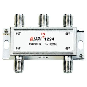 High Quality Type Indoor 4 way CATV Splitter(5-1000MHz)