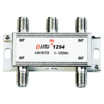 High Quality Type Indoor 4 way CATV Splitter(5-1000MHz)