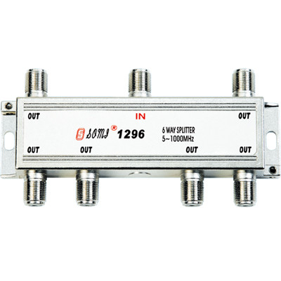 High Quality Type Indoor 6 way CATV Splitter(5-1000MHz)