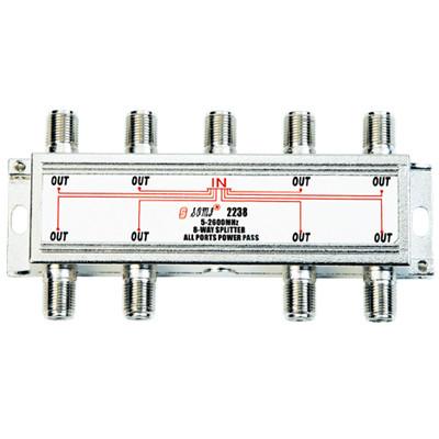 High-Quality Indoor 8-way Satellite Splitter(5-2400MHz)