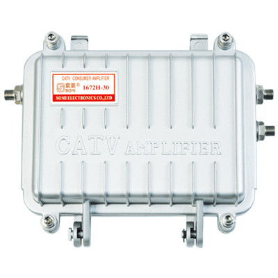 Outdoor Trunk catv signal amplifier, Alloy Zinc housing, for catv use