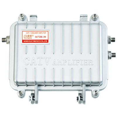 Outdoor Trunk catv signal amplifier, Alloy Zinc housing, for catv use