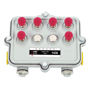 Hot Sale 6 Way Outdoor CATV Tap 5-1000 MHz In port and out port Power