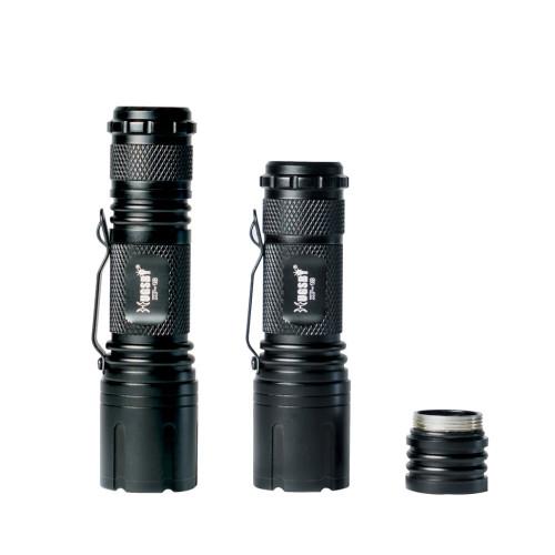 HUGSBY XP18 Self-defense Aluminum Waterproof Tactical Flashlight Led Torch Light Manufacturer China