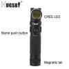 Hugsby magnetic base aluminum led light flashlight A180M