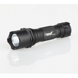 Hugsby aluminum red bright led flashlight M22R