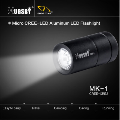 Promotional micro aluminum led flashlight MK1