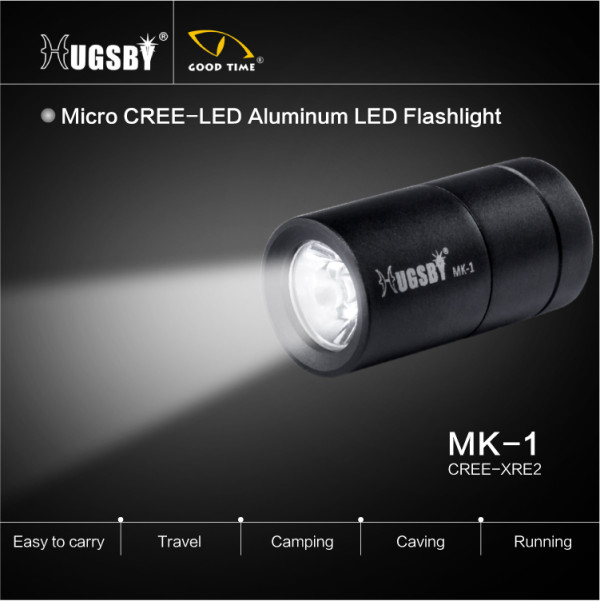 Promotional micro aluminum led flashlight MK1