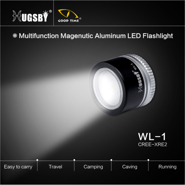 Hugsby Night Running magnetic flashlight WL1