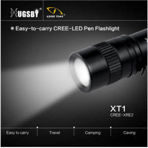 Pen aluminum mini led flashlight XT1
