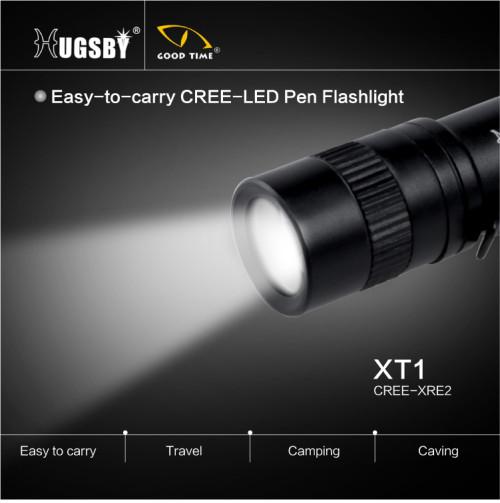 Pen aluminum mini led flashlight XT1