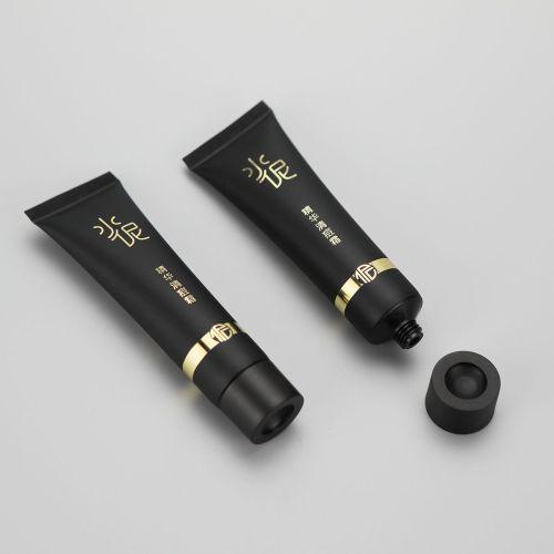 25mm 30g BB cream eye sel clear acne cream matte finish plastic cosmetic tube with screw cap